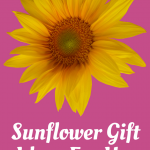 sunflower gifts for her