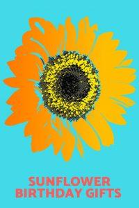 sunflower birthday gifts