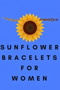 sunflower bracelets
