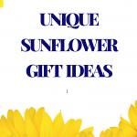 16 Unique Sunflower Gifts – Unique Sunflower Gift Ideas For Sunflower Lovers