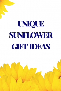 unique sunflower gifts