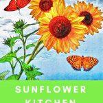 Sunflower Kitchen Curtains For Sunflower Themed Kitchen Decor – Best Floral Kitchen Curtains