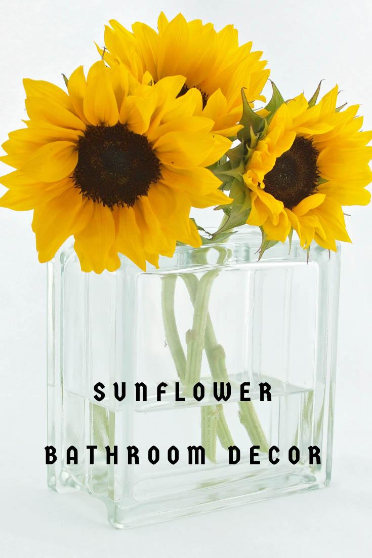Sunflower Bathroom Decor Ideas Best