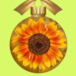 Sunflower Christmas Ornament Ideas For Christmas Tree Decor 2018